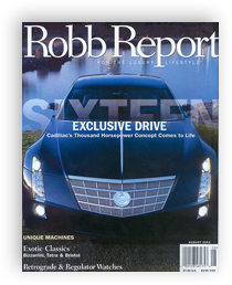 August 2003 - Robb Report