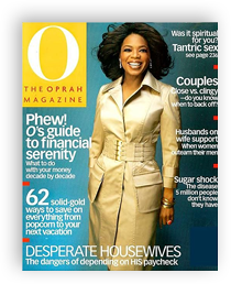 March 2005 - O, The Oprah Magazine