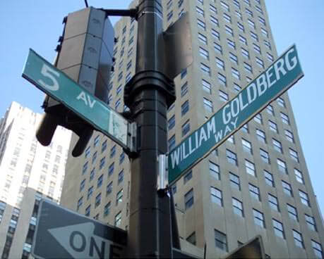William Goldberg Way and 5th Ave