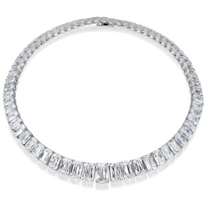 ASHOKA® D INTERNALLY FLAWLESS RIVIERE NECKLACE