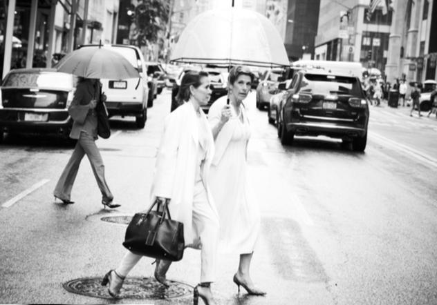 Eve Goldberg and Kim-Eva Wempe, New York