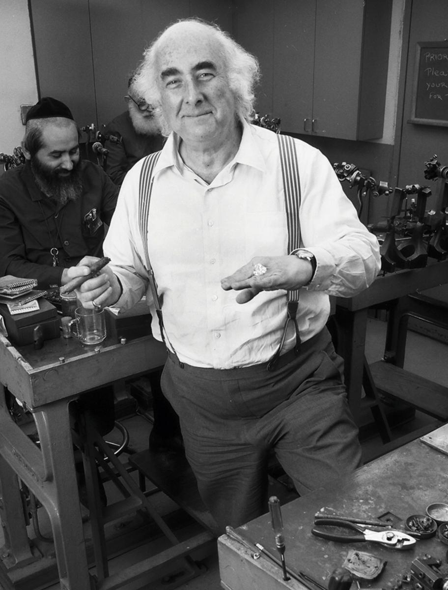 William Goldberg Diamond Cutting Factory
