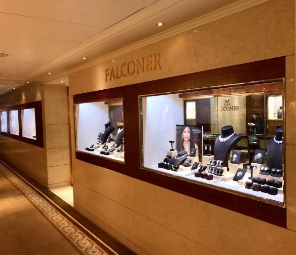 Falconer shop, Peninsula Hotel, Hong Kong