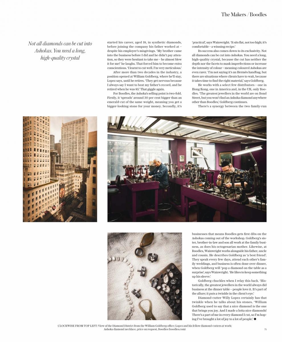 Telegraph Luxury Boodles ASHOKA story