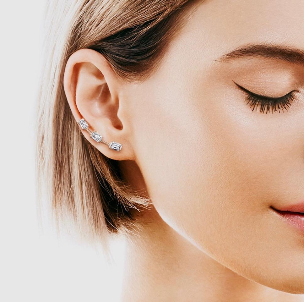 ASHOKA Diamond Ear Cuffs