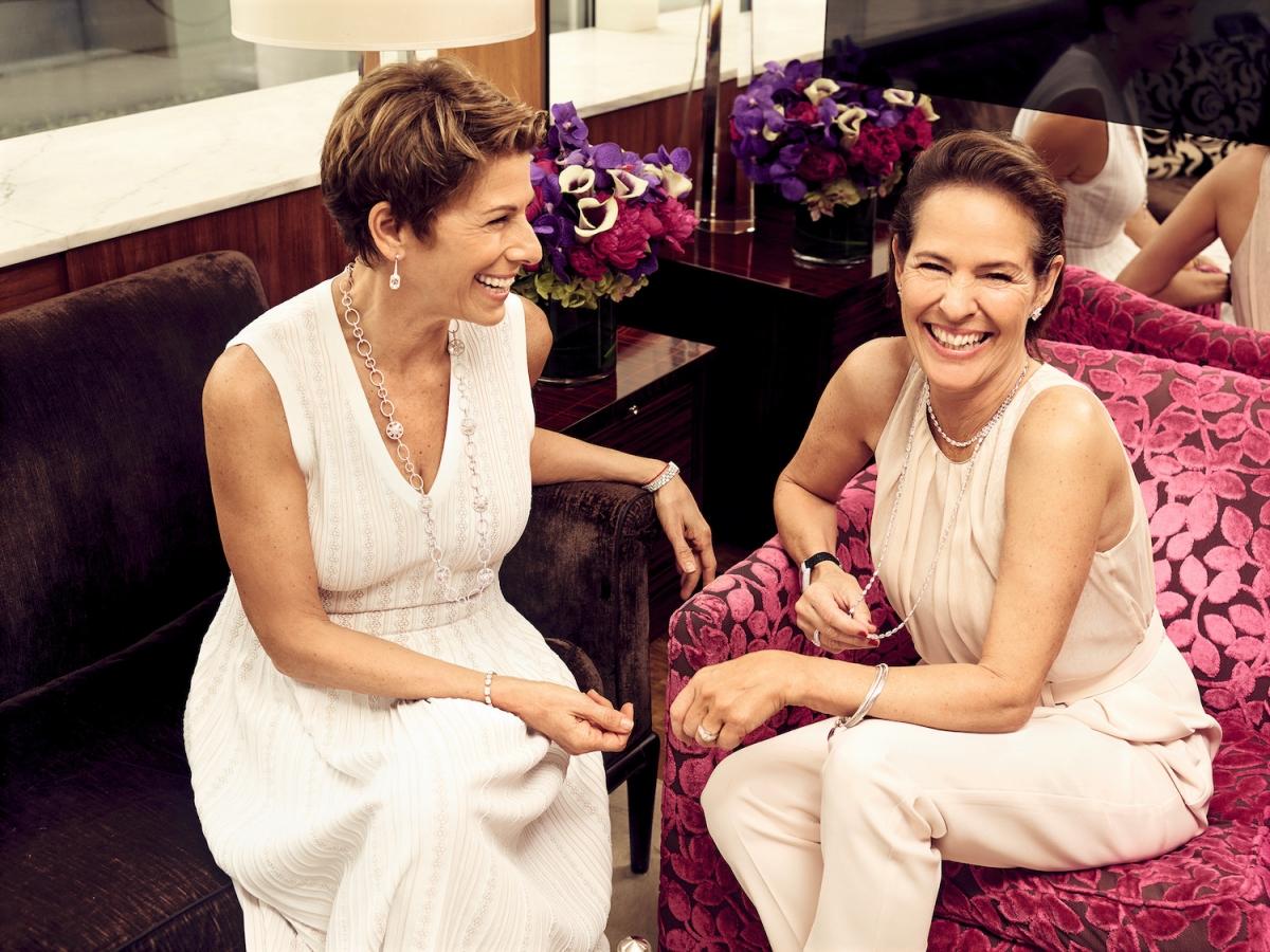 Eve Goldberg and Kim-Eva Wempe New York