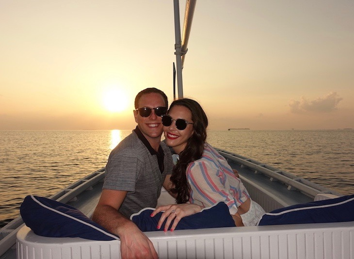 Rose Goldberg and Joshua Feinberg Honeymoon Maldives