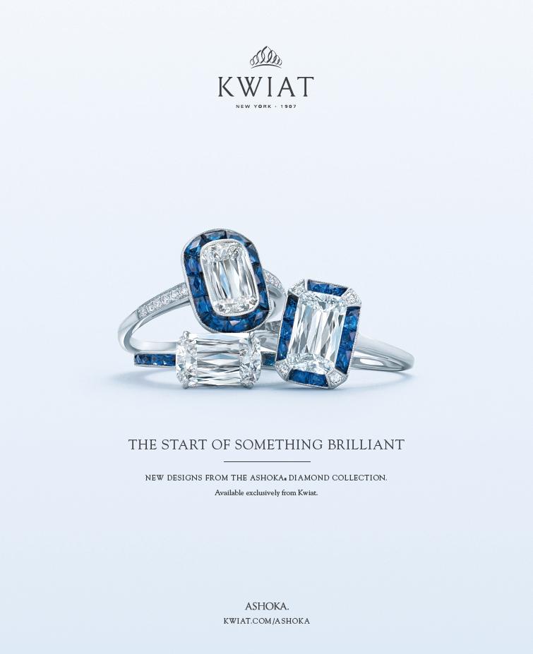 Kwiat ASHOKA Sapphire Diamond Engagement Rings