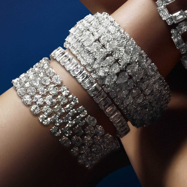 WG diamond bracelets