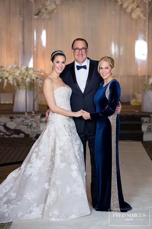 Rose, Saul and Dale Goldberg - Wedding