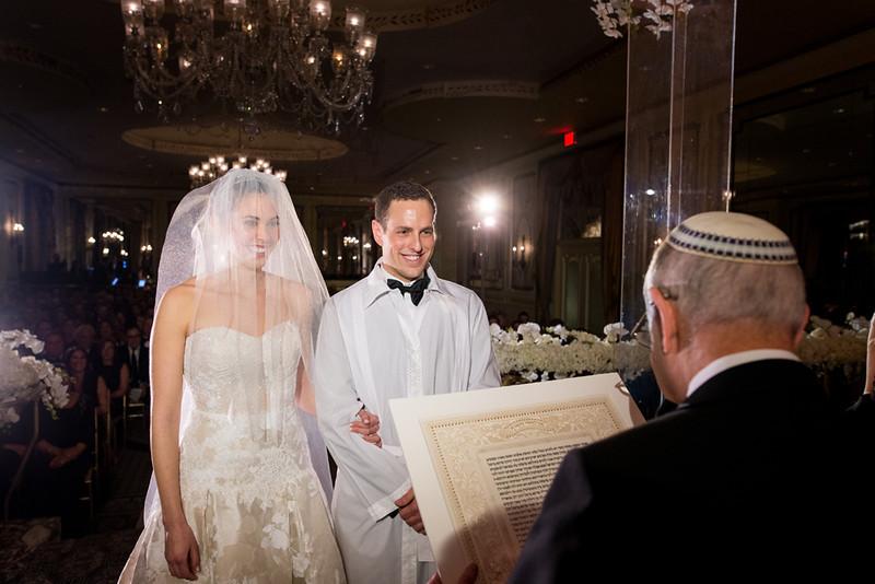 Rose Goldberg and Joshua Feinberg Wedding Ceremony