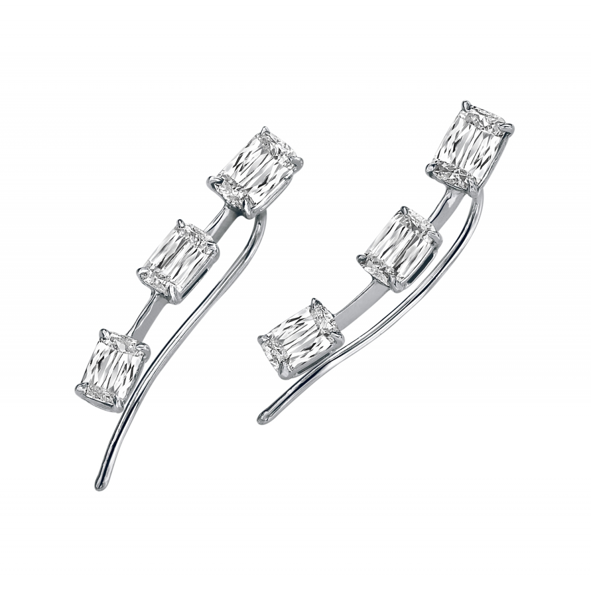 ASHOKA Diamond Ear Cuffs