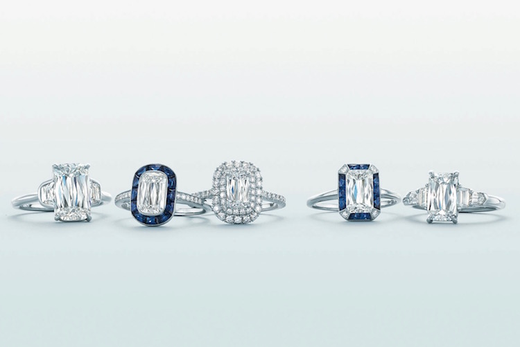 Kwiat ASHOKA Sapphire Diamond Engagement Rings