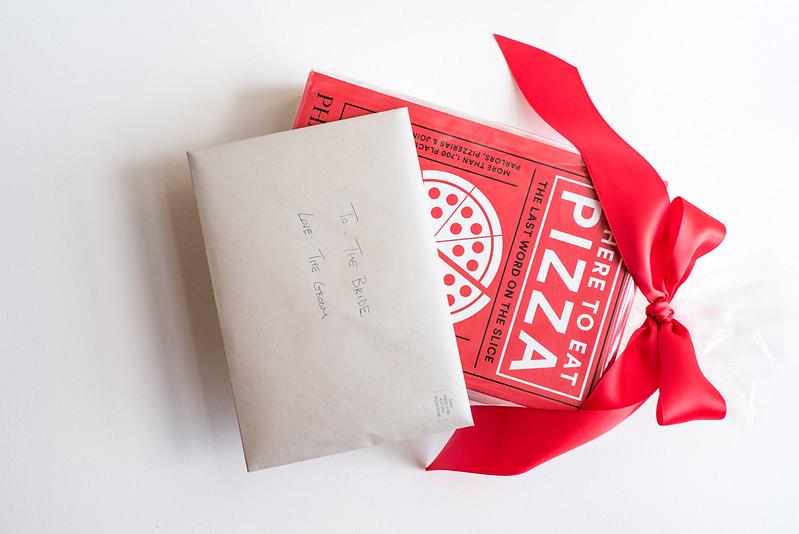Rose Goldberg Wedding Gift Pizza Book